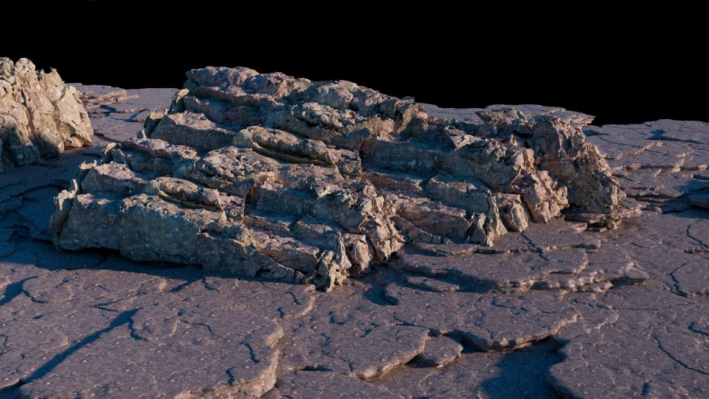 Cliffs and Bricks in Houdini - Video Tutorial