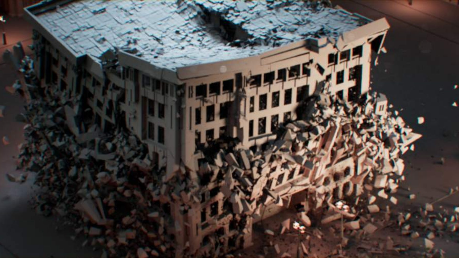 Free Building Models for Destruction FX Featured Image