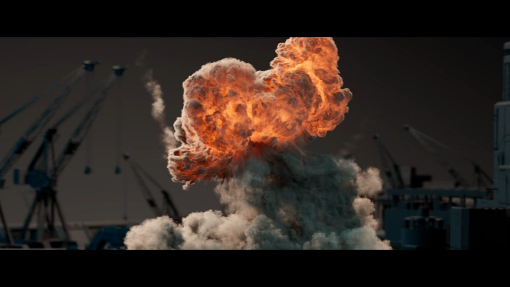 How to Land a VFX Job - Dark Explosion Cloud