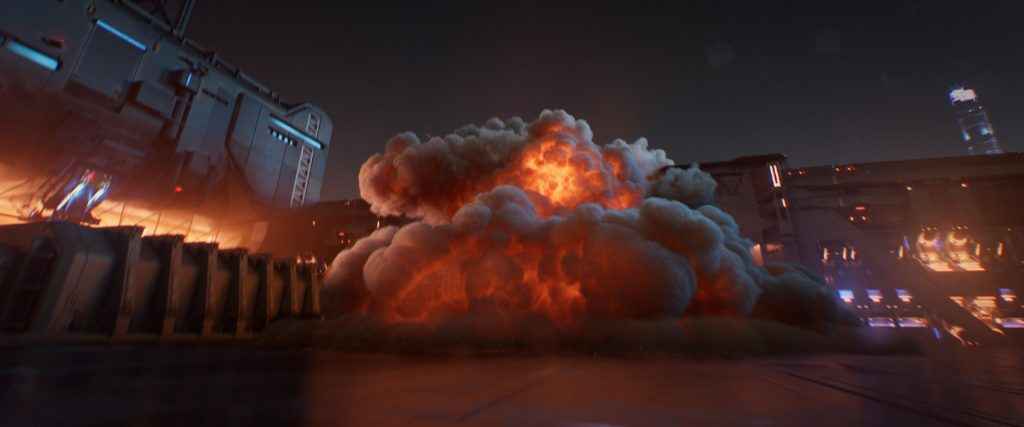 How to Land a VFX Job - Rolling Explosion