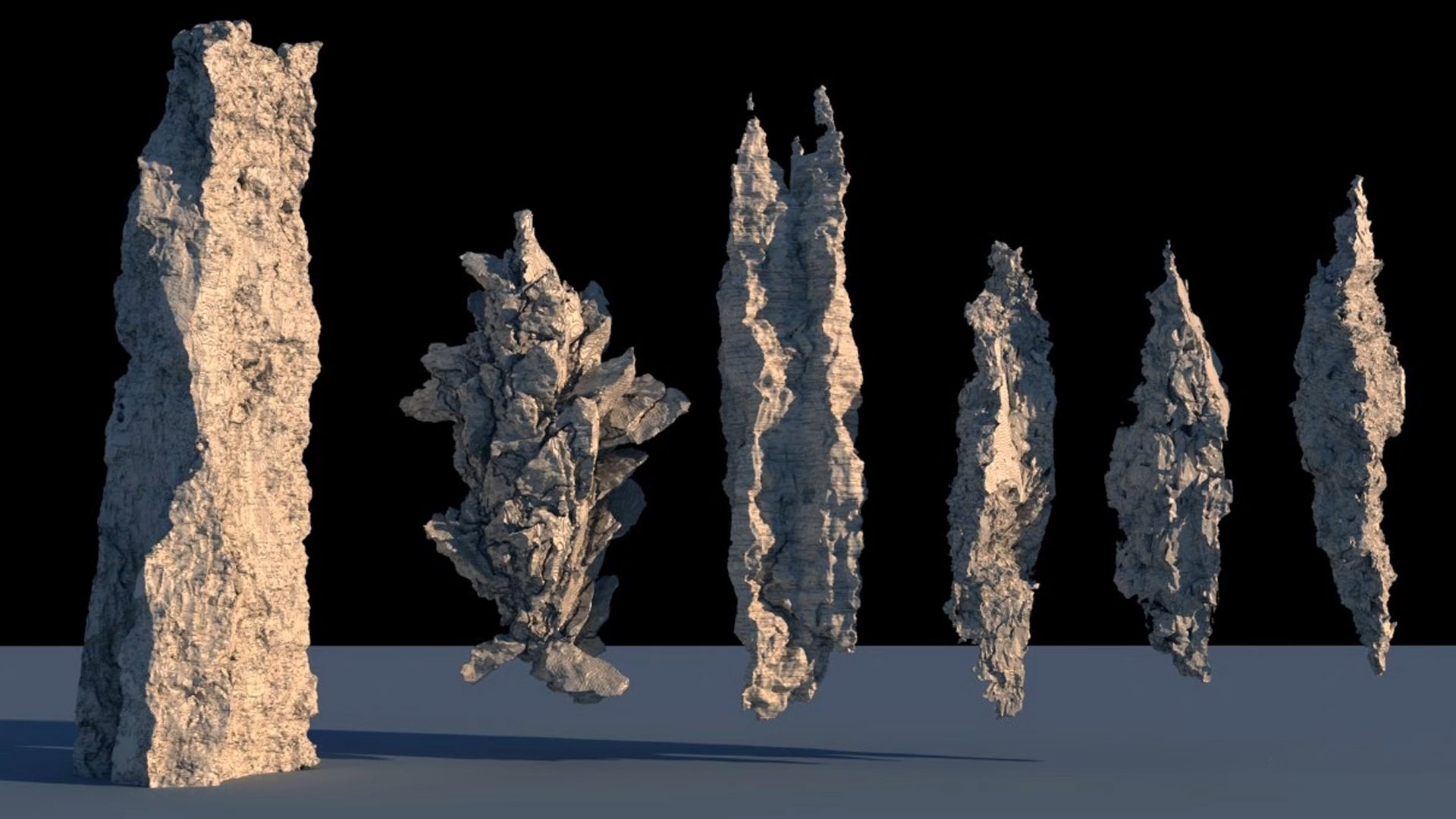 Using Volumes to Create 3D Complexity Thumbnail