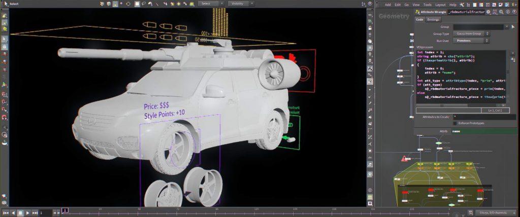 Online Houdini Basics VFX Course