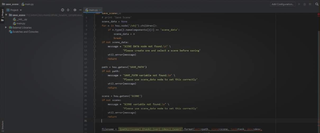 Python Portfolio Online VFX Course